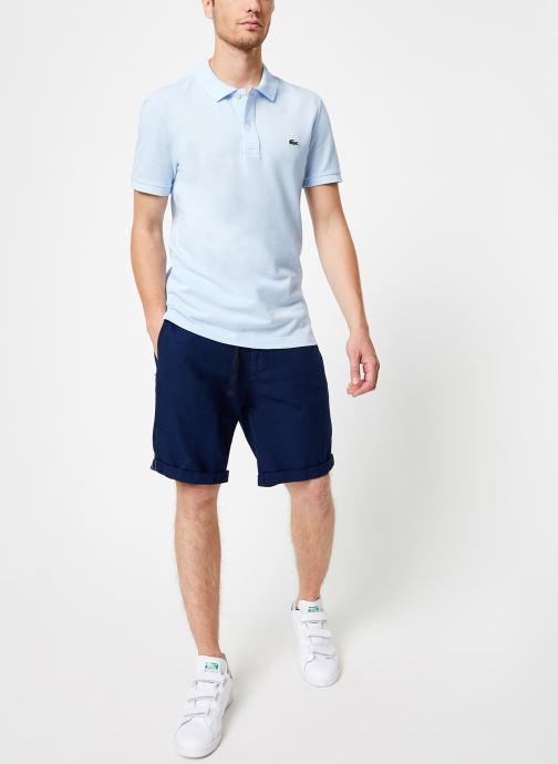 Vêtements Lacoste PH4012-00 Bleu vue bas / vue portée sac