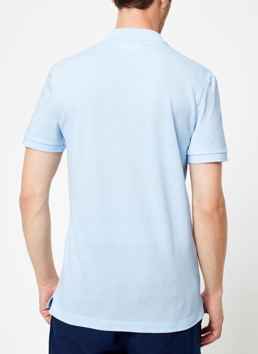 Vêtements Lacoste PH4012-00 Bleu vue portées chaussures