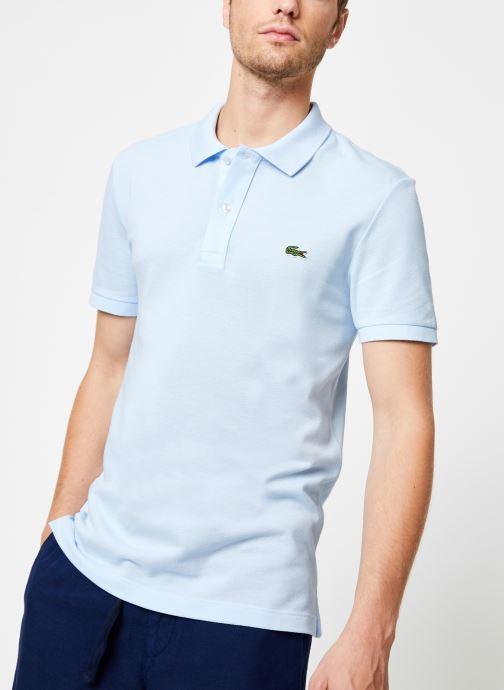 Vêtements Lacoste PH4012-00 Bleu vue détail/paire