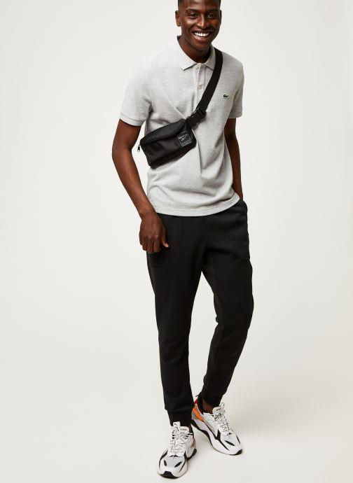 Vêtements Lacoste Polo PH4012 Slim Fit Manches Courtes Gris vue bas / vue portée sac