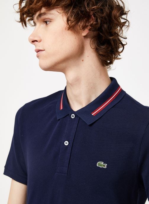 Kleding Lacoste PH8522-00 Blauw voorkant