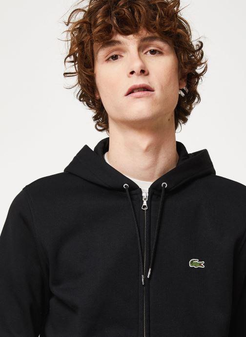 Vêtements Lacoste SH8549-00 Noir vue face