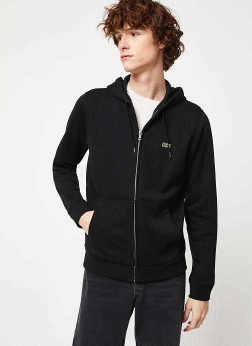 Vêtements Lacoste SH8549-00 Noir vue droite