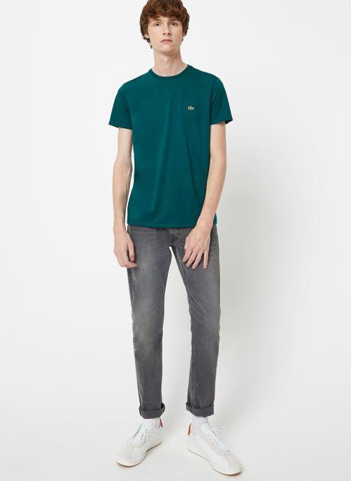 Kleding Lacoste Tee-Shirt Classique Manches Courtes Bruin onder