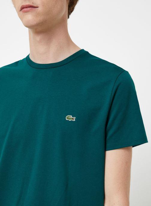 Kleding Lacoste Tee-Shirt Classique Manches Courtes Bruin voorkant