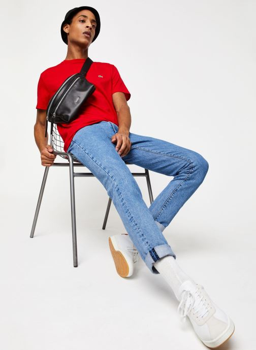 Kleding Lacoste Tee-Shirt Classique Manches Courtes Rood onder