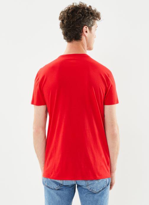 Kleding Lacoste Tee-Shirt Classique Manches Courtes Rood model