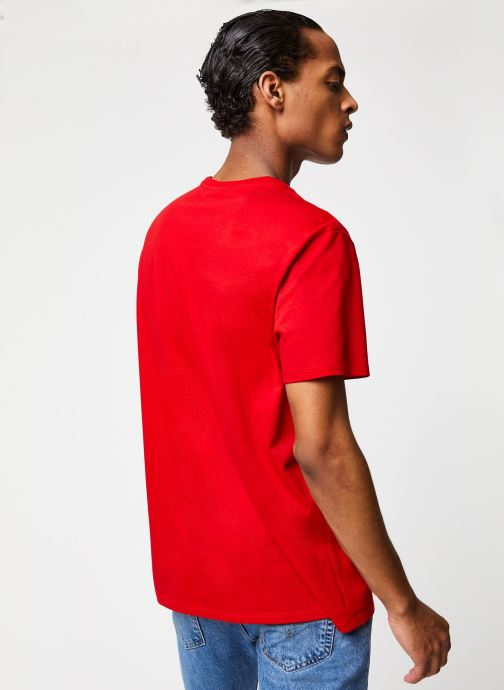 Kleding Lacoste Tee-Shirt Classique Manches Courtes Rood model