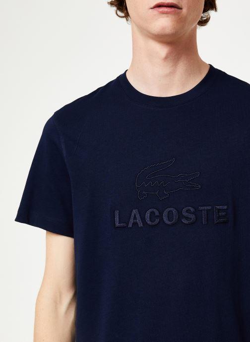 Vêtements Lacoste TH8602-00 Bleu vue face