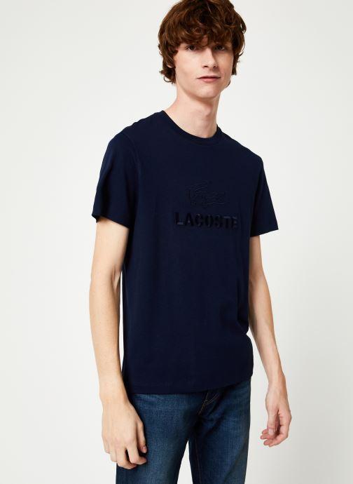 Vêtements Lacoste TH8602-00 Bleu vue détail/paire