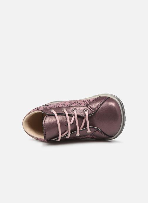 Bottines et boots Bopy Zoflo Rose vue gauche