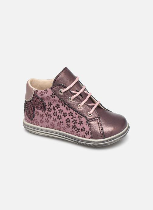 Bottines et boots Bopy Zoflo Rose vue détail/paire