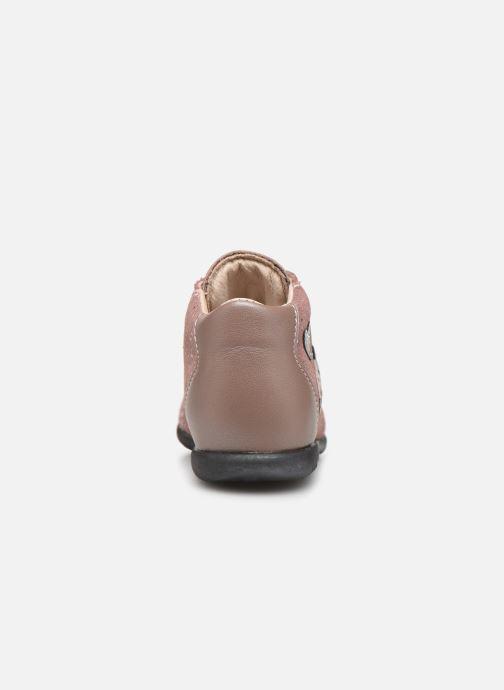 Bottines et boots Bopy Zoxia Rose vue droite