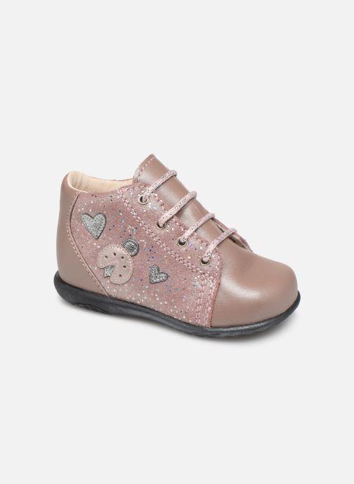 Bottines et boots Bopy Zoxia Rose vue détail/paire