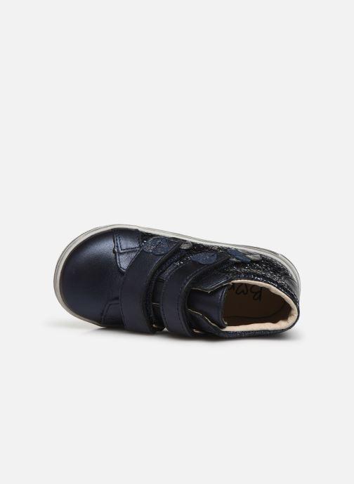 Bottines et boots Bopy Ricavel Bleu vue gauche