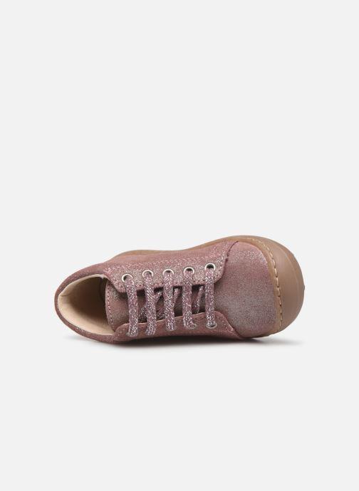 Bottines et boots Bopy Jetrote Rose vue gauche