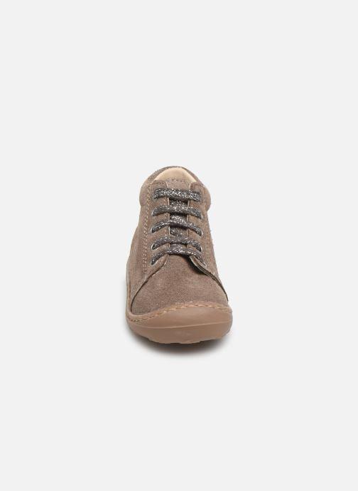 Bottines et boots Bopy Jetrote Beige vue portées chaussures