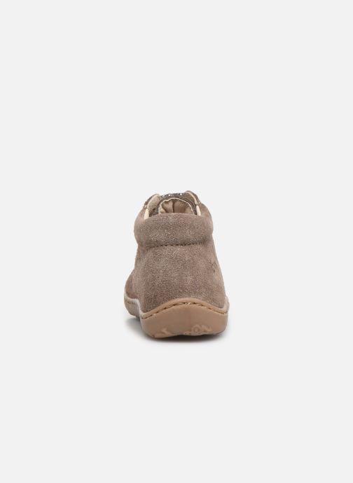 Bottines et boots Bopy Jetrote Beige vue droite