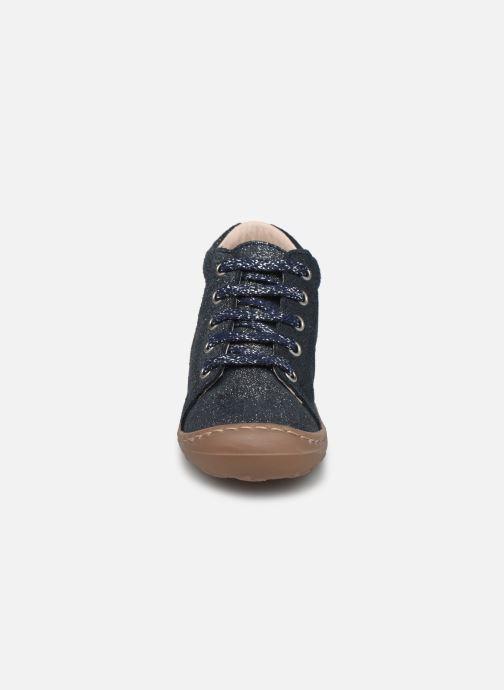 Bottines et boots Bopy Jetrote Bleu vue portées chaussures