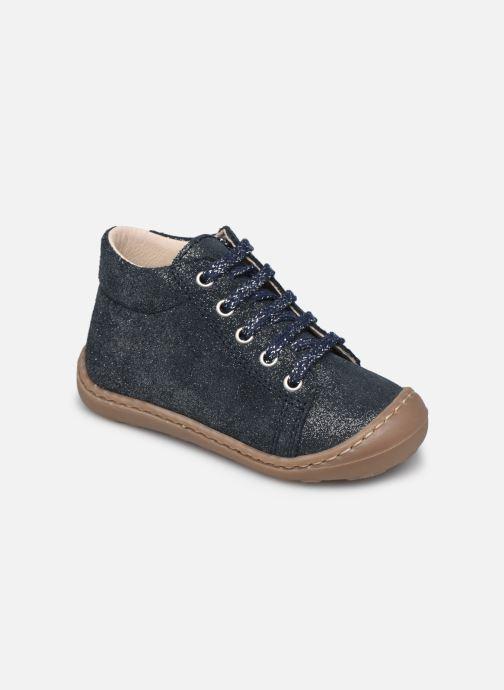 Bottines et boots Bopy Jetrote Bleu vue détail/paire