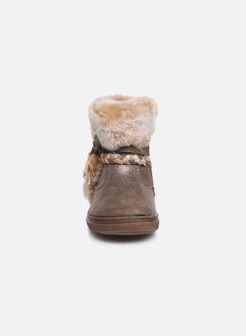 Bottines et boots Bopy Iforta Kouki Beige vue portées chaussures