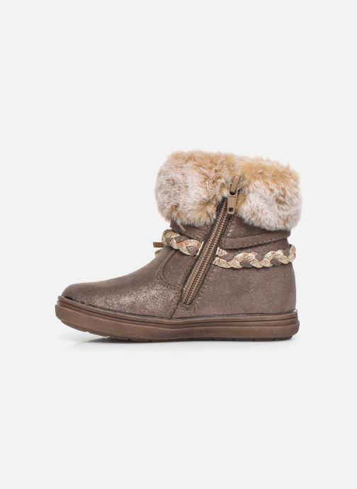 Boots en enkellaarsjes Bopy Iforta Kouki Beige voorkant