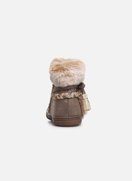 Bottines et boots Bopy Iforta Kouki Beige vue droite