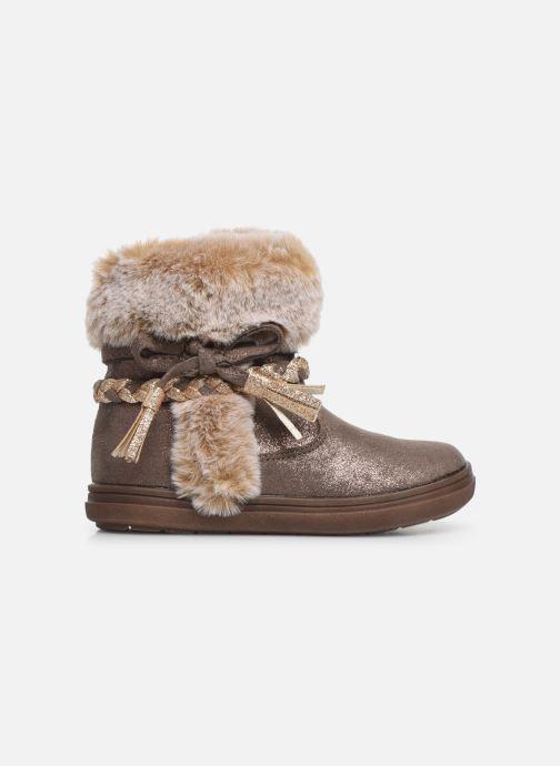 Boots en enkellaarsjes Bopy Iforta Kouki Beige achterkant