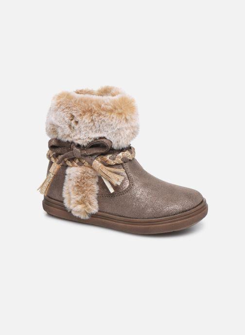 Bottines et boots Bopy Iforta Kouki Beige vue détail/paire