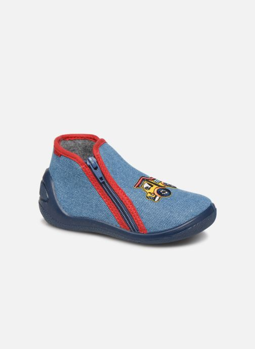 Slippers Bopy Acamion Blue detailed view/ Pair view