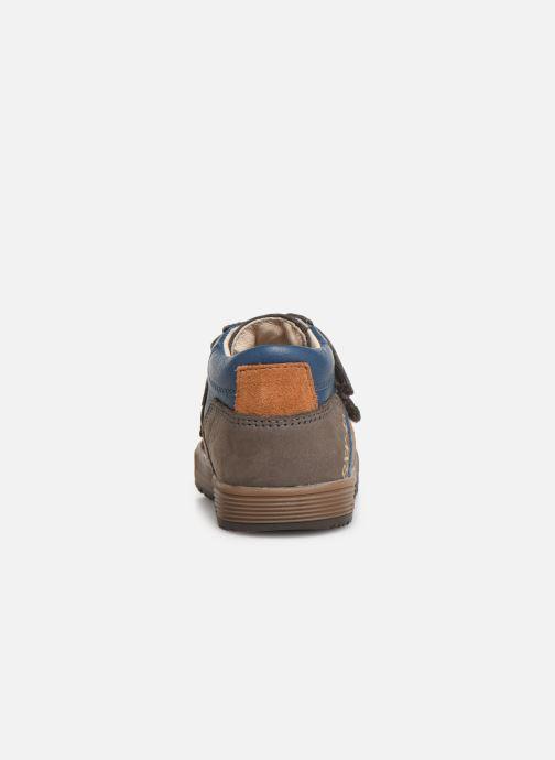 Bottines et boots Bopy Binyl Gris vue droite