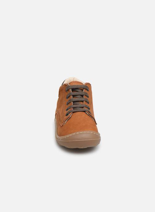 Bottines et boots Bopy Jazz Marron vue portées chaussures