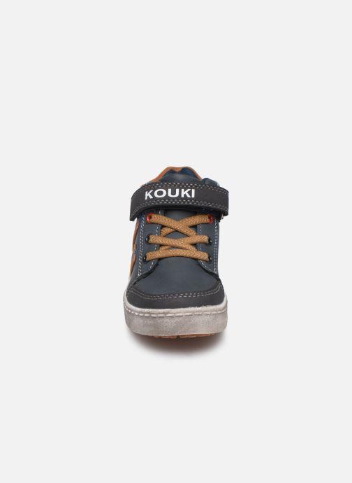 Baskets Bopy Ianivel Kouki Bleu vue portées chaussures