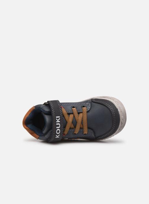 Sneakers Bopy Ianivel Kouki Blauw links