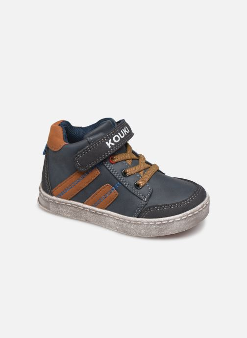 Sneakers Bopy Ianivel Kouki Blauw detail