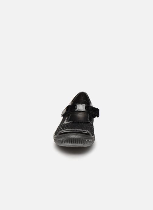 Ballerines Bopy Sallica Noir vue portées chaussures