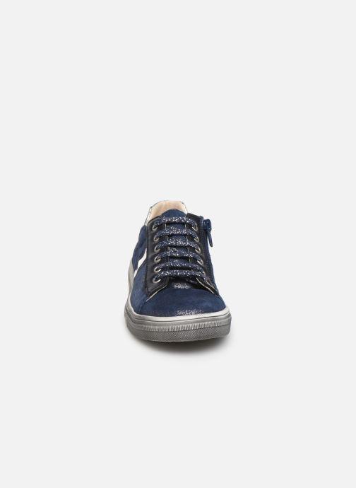 Baskets Bopy Sanata Bleu vue portées chaussures