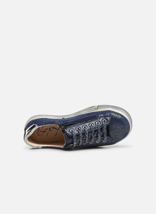 Sneakers Bopy Sanata Blauw links