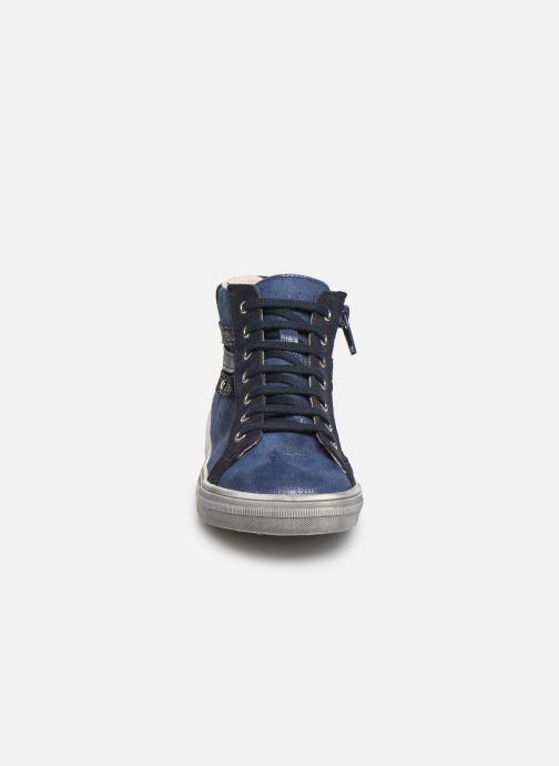 Baskets Bopy Salema Bleu vue portées chaussures