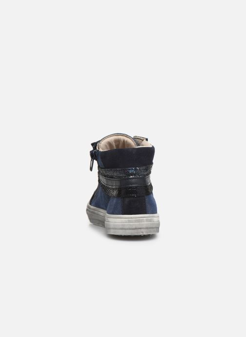 Trainers Bopy Salema Blue view from the right