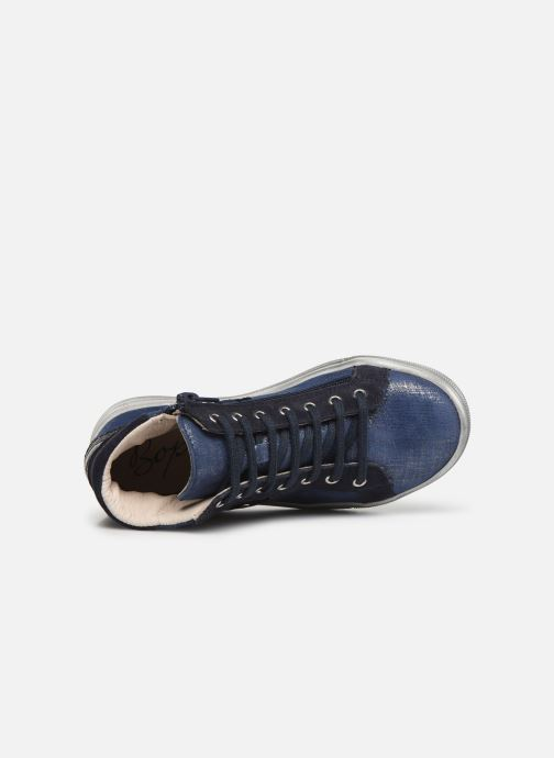 Trainers Bopy Salema Blue view from the left