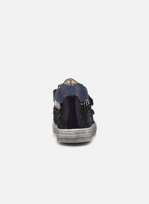 Baskets Bopy Sarivel Bleu vue droite