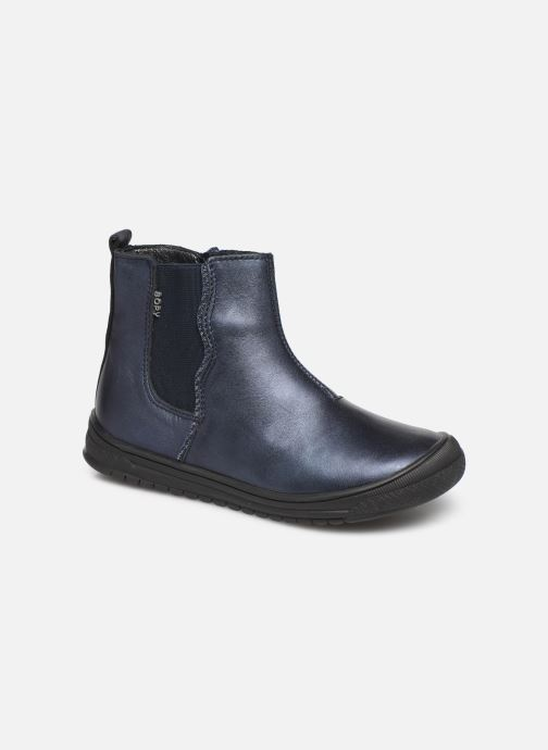 Ankle boots Bopy Sagala Blue detailed view/ Pair view