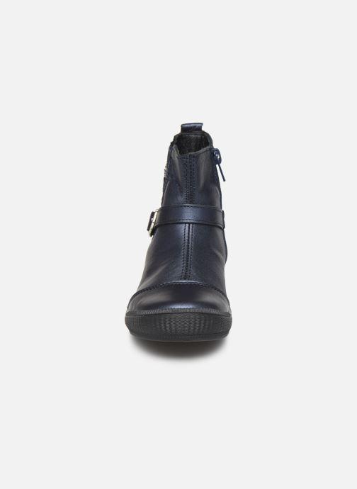 Bottines et boots Bopy Siropa Bleu vue portées chaussures
