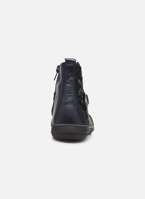 Bottines et boots Bopy Siropa Bleu vue droite