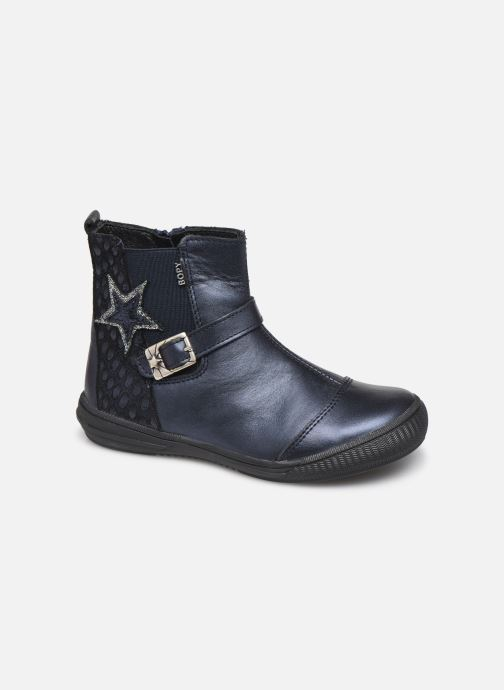 Ankle boots Bopy Siropa Blue detailed view/ Pair view