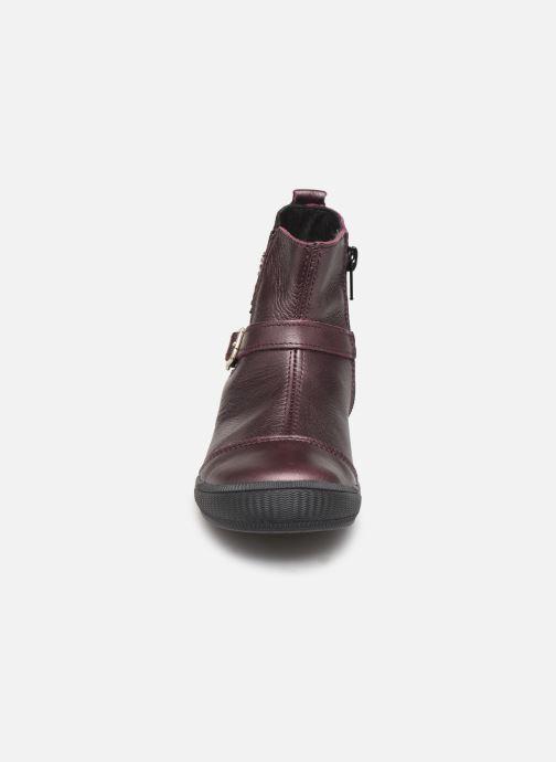 Boots en enkellaarsjes Bopy Siropa Bordeaux model