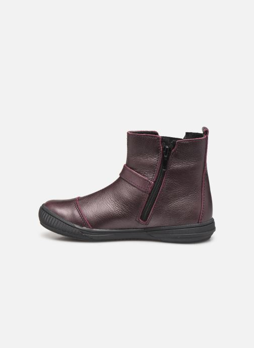 Bottines et boots Bopy Siropa Bordeaux vue face