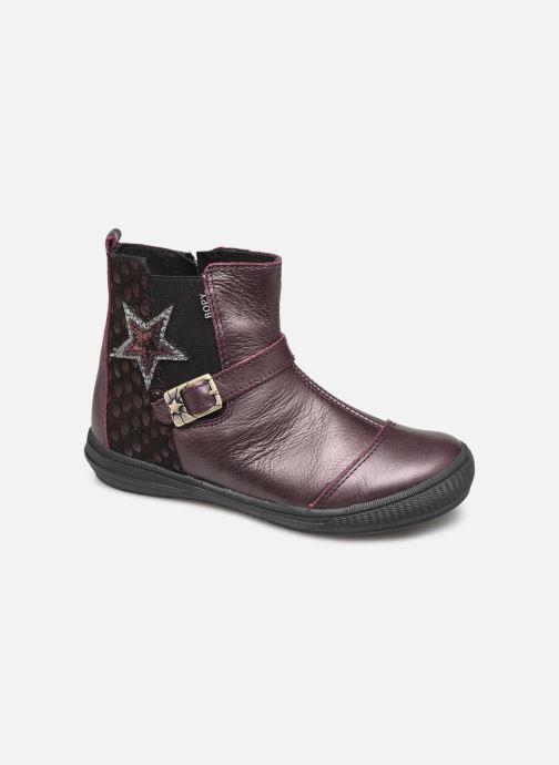 Boots en enkellaarsjes Bopy Siropa Bordeaux detail