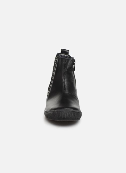 Bottines et boots Bopy Samana Noir vue portées chaussures